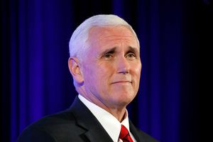Can Mike Pence escape the