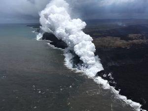 Lava From Hawaii's Kilauea