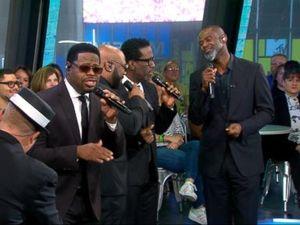 WATCH: Boyz II Men rock out to