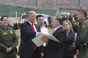 GoFundMe for Trump's border