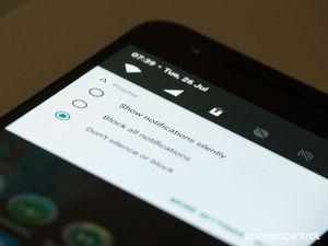 Prisma: Blank notification