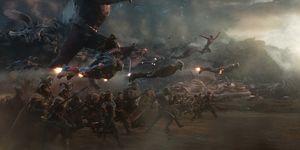 Avengers: Endgame Cut A Battle