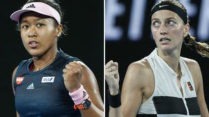 Kvitova & Osaka to face off
