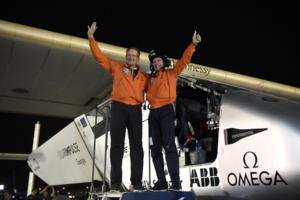 Solar-powered Solar Impulse