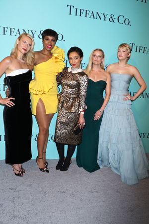 Claire danes reese witherspoon celebrate tiffany co for Mariah carey jewelry line claire s