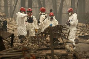 Death toll in California Camp