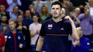 Davis Cup: Cameron Norrie wins