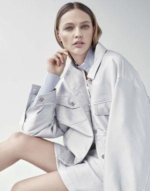 Sasha Pivovarova Embraces New