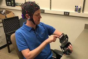 Mind-controlled bionic hand