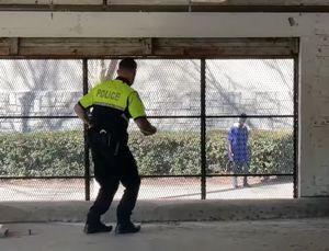 Watch a Georgia cop and a