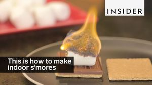 Make Perfect S'mores Indoors
