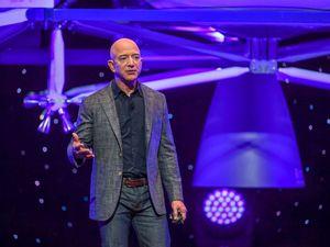 Jeff Bezos delivered his