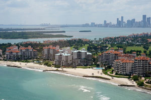 Ritzy Fisher Island residents