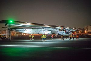 Solar-Powered Plane Completes