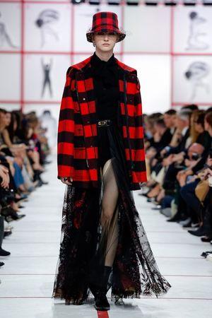 Dior Embraces Plaid for Fall
