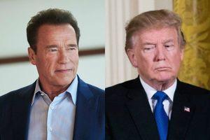 Schwarzenegger Razzes Trump's