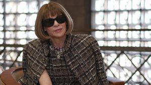 Vogue's Anna Wintour Shares