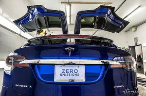 Tesla claims Model X service