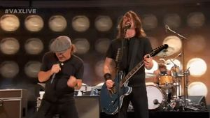 Foo Fighters Perform AC/DC's
