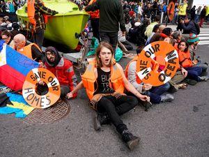 Climate change activists have