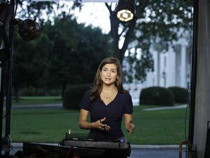 A CNN reporter refused to move