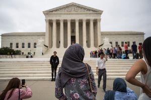 '#NoMuslimBanEver.' Reactions
