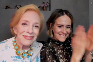 Sarah Paulson sits in on her