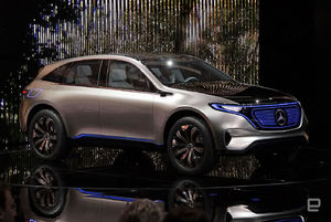 Mercedes steps up its electric