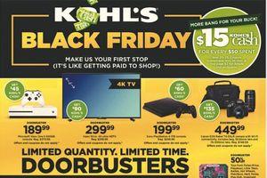 Black Friday 2017 Ads: Kohl's