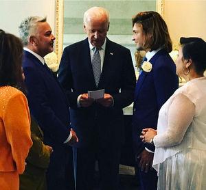 Joe Biden Officiates Wedding