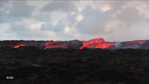 New video shows Hawaii's lava