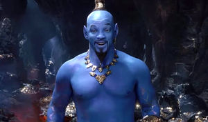 Will Smith's Debut As Genie In