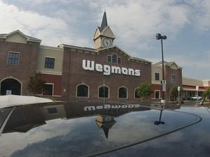Wegmans dumping plastic bags