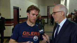 Connor McDavid reflects on the
