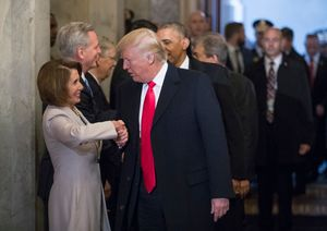 Donald Trump to Nancy Pelosi: