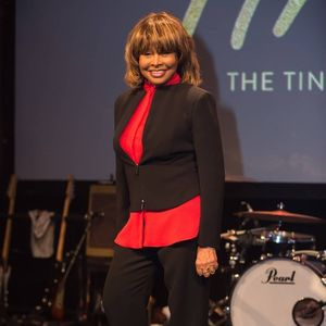 Tina Turner comes out of
