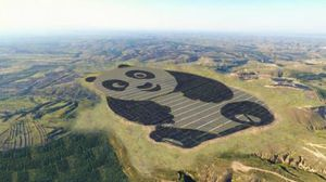 This Chinese solar plant looks