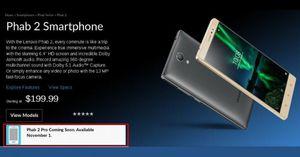 Lenovo Phab 2 Pro will finally