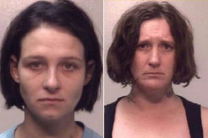 Mother and friend arrested for
