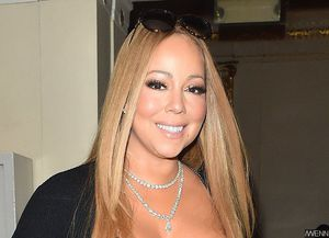 Whoops! Mariah Carey Flashes