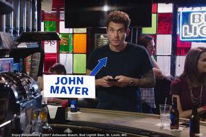 WATCH: Lucky Fan Denies John
