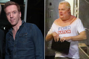 Damian Lewis is unrecognizable