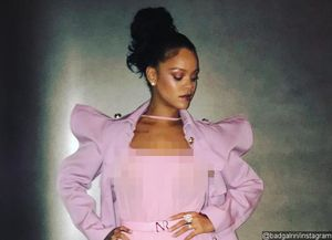 Rihanna Flashes Nipples in