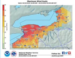 Windstorm causes closures,