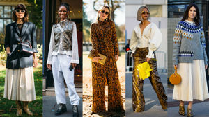 Snakeskin Was the Street Style