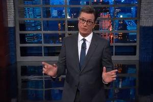 Stephen Colbert Schools Trump