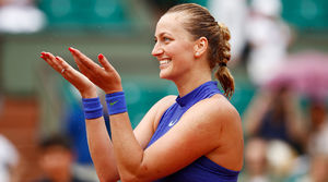 Petra Kvitova wins in