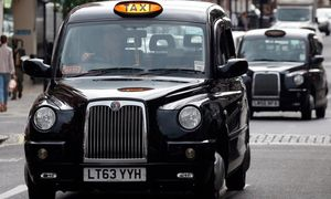 Black cabs to support