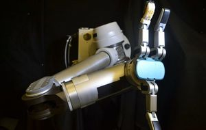 This faux skin gives robots a