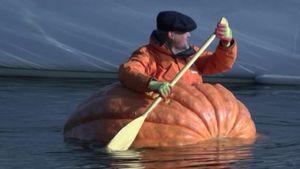 'I am the pumpkin pilot'